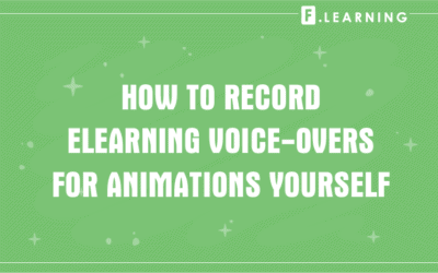 How to Record ELearning Voice-overs for Animations Yourself