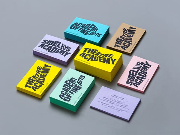 Branding Guideline of University of the Arts Helsinki