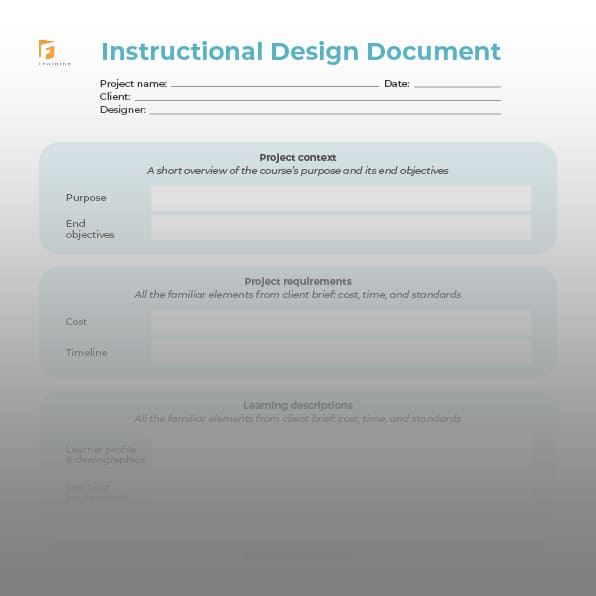 instructional design document template 3